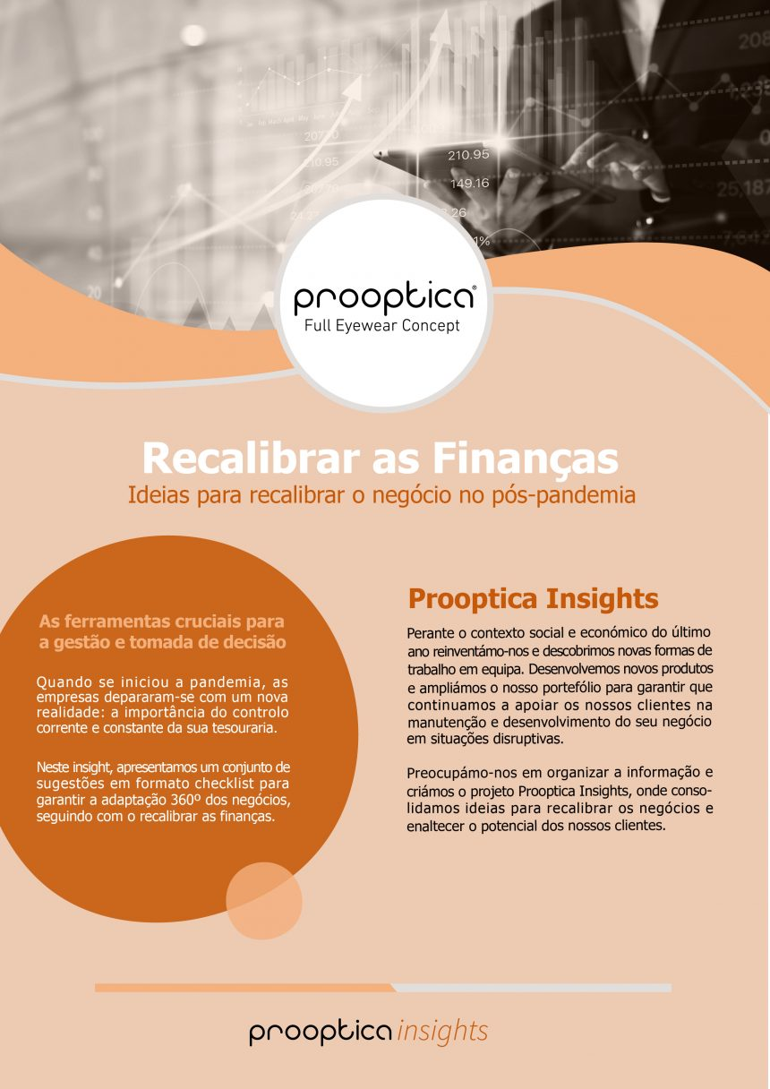Prooptica [insight] Recalibrar as Finanças