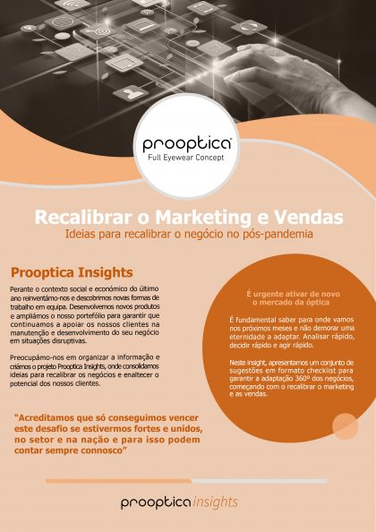 (Português) Prooptica [insight] Recalibrar o Marketing e as Vendas